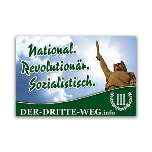 National Revolutionär Sozialistisch Aufkleber