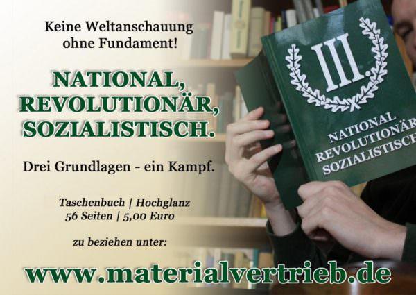 Nationalrevolutionäre Schriftenreihe Band 1 National, Revolutionär, Sozialistisch