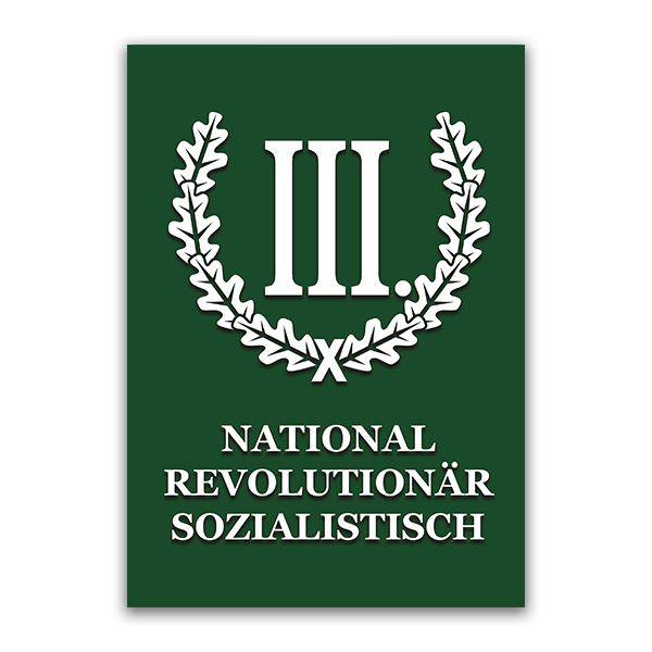 Buch National Revolutionär Sozialistisch DER III. WEG