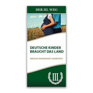 Deutsche Kinder braucht das Land Faltblatt
