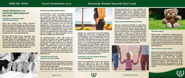 Familienpolitik Der III. Weg