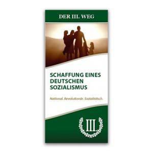 Deutscher Sozialismus Faltblatt