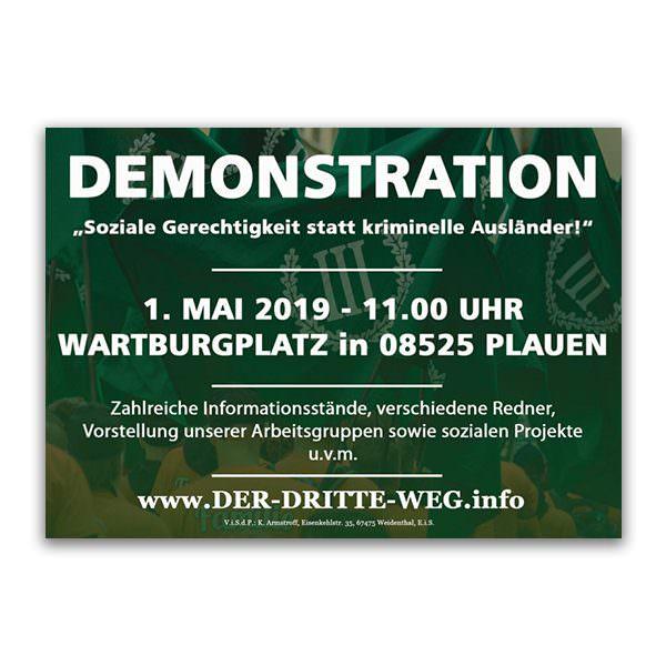 Arbeiterkampftag 1. Mai 2019 Plauen Flugblatt