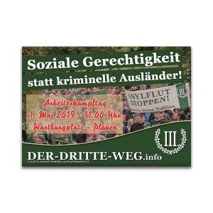 Aufkleber 1. Mai 2019 Arbeiterkampftag