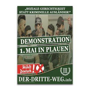 Plakat 1. Mai 2019 Arbeiterkampftag
