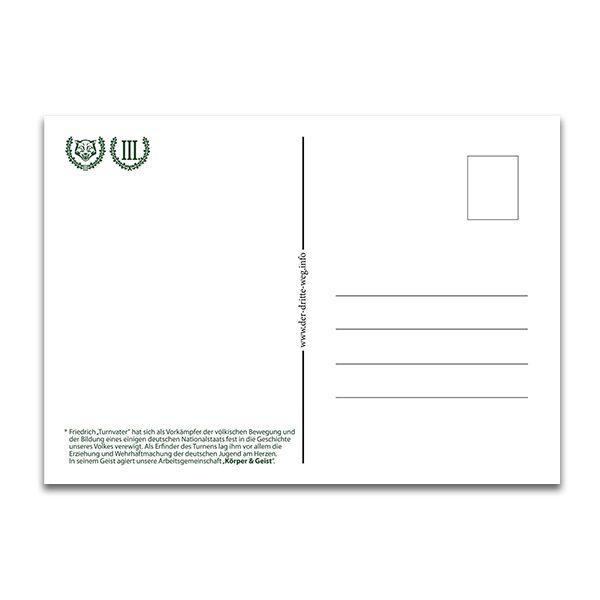Turnvater Jahn Postkarte